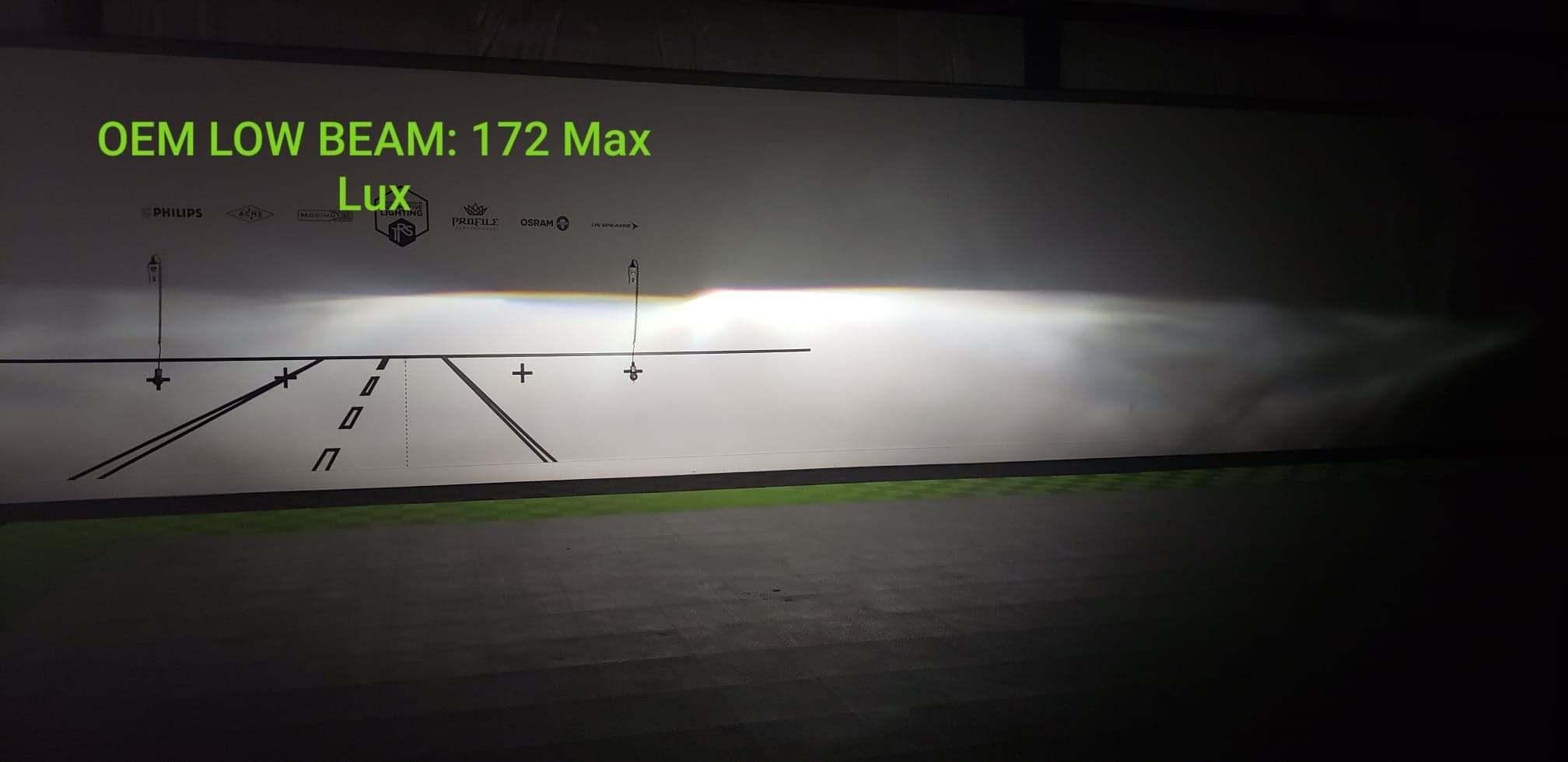 Are the 370z Morimoto XB headlights brighter than stock?